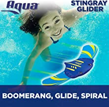 Aqua Stingray Underwater Glider, Swimming Pool Toy, Self-Propelled, Adjustable Fins, Travels up to 60 Feet, Dive and Retrieve Pool Toy