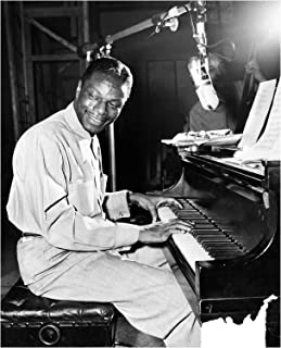 Nat King Cole Playing Piano Photo Art Great Musicians Photos Artwork 8x10