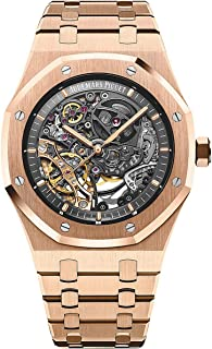 Audemars Piguet Royal Oak Openworked Extra-Thin 39mm 18K Rose Gold Watch 15204OR.OO.1240OR.01