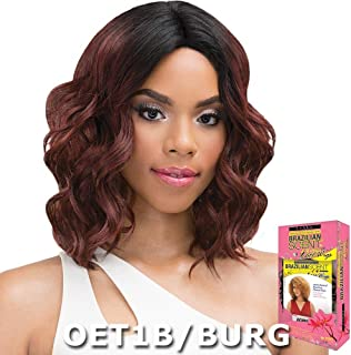 JANET COLLECTION BRAZILIAN SCENT LACE FRONT WIG - SKYLER (1B)