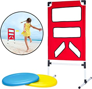 Perfect Life Ideas Outdoor Backyard Disc Toss Target Lawn Game - Kids Fun Family Outside Activities Flying Disc Throwing Game for Children Boys Girls Parties Tailgates Summer Camp Barbecue Events
