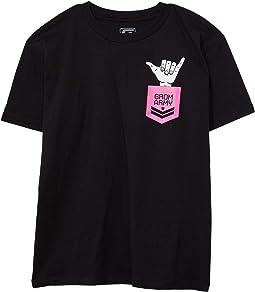 Shaka Army T-Shirt Short Sleeve (Little Kids/Big Kids)