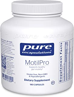 Pure Encapsulations - MotilPro - Hypoallergenic Dietary Supplement to Promote Healthy Gut Motility - 180 Capsules