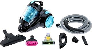H.Koenig SLS890 - Aspirador sin bolsa multicicl?nico silencioso +, Especial para Mascotas, 74 db , Filtro HEPA, Capacidad 2.5 l, Color Azul