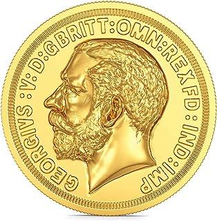 Joyalukkas 22k (916) 8 gm BIS Hallmarked Yellow Gold Precious Coin with George head Design