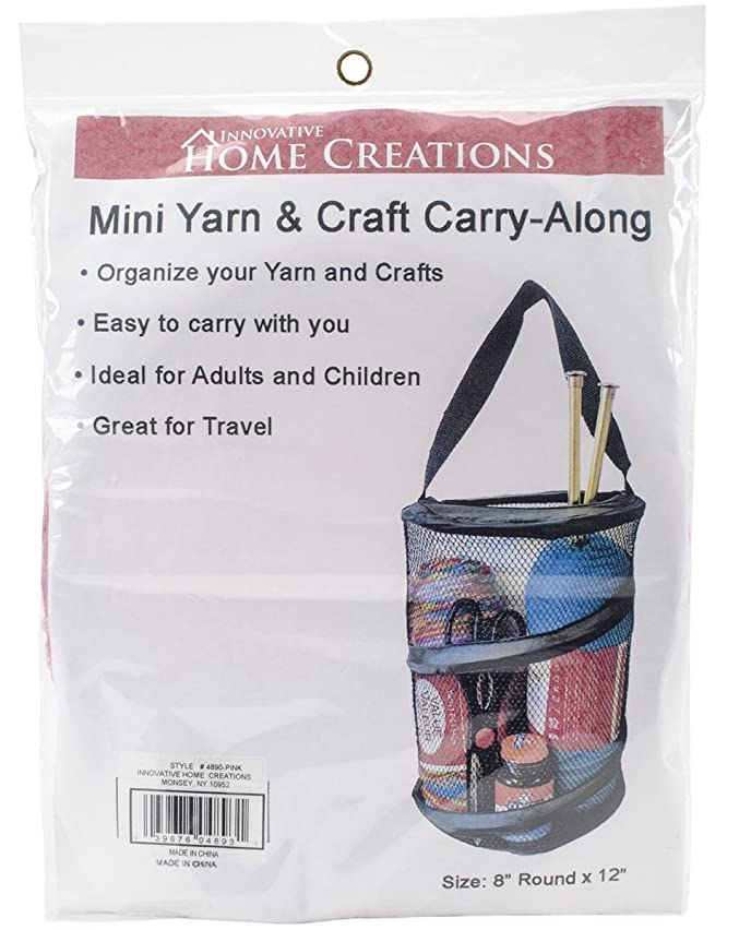Innovative Home Creations Mini Yarn and Craft Carry Along, 8