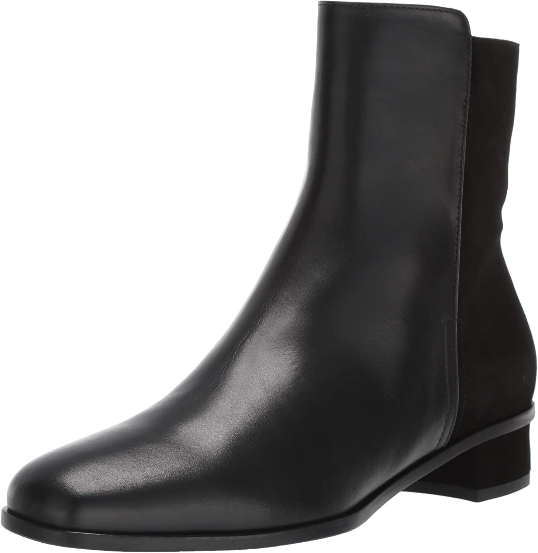 Aquatalia Womens Lissa Calf Suede Ankle Boot