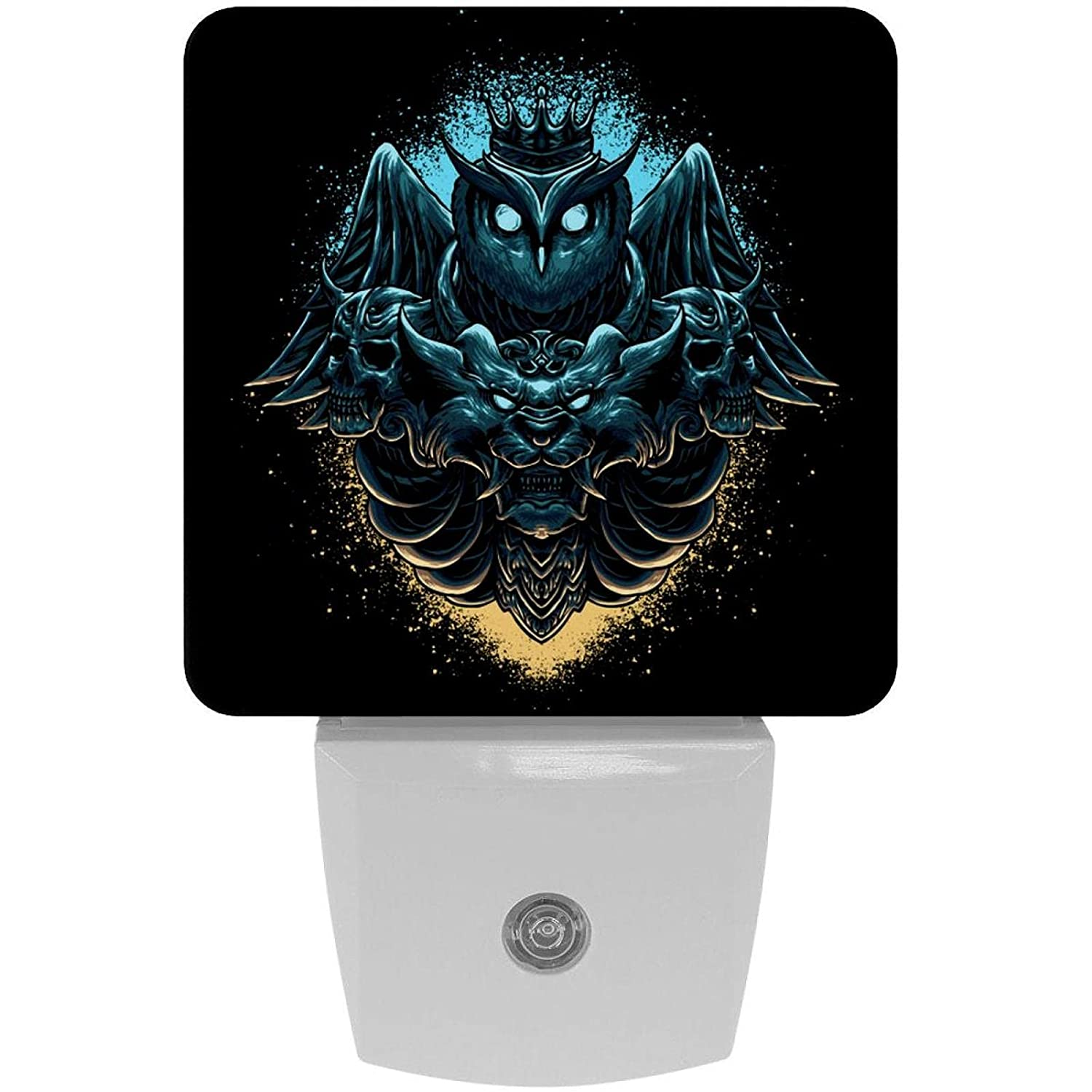 Bedside Lamp Sale special price Owl and Lion favorite Head Plug-in LED Night with Dusk Light