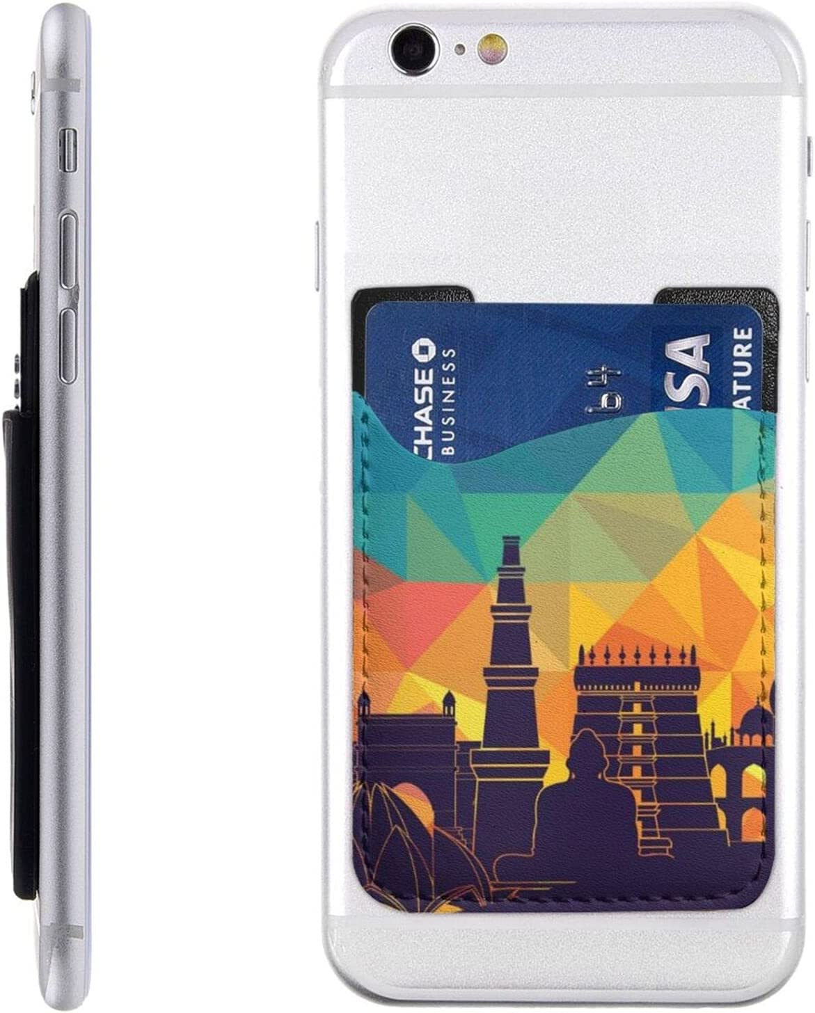 City Design Phone Card Holder Wallet Cell Sl Rapid rise High order On Stick