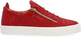 Luxury Fashion Mens RU70000177 Red Sneakers | Season Permanent