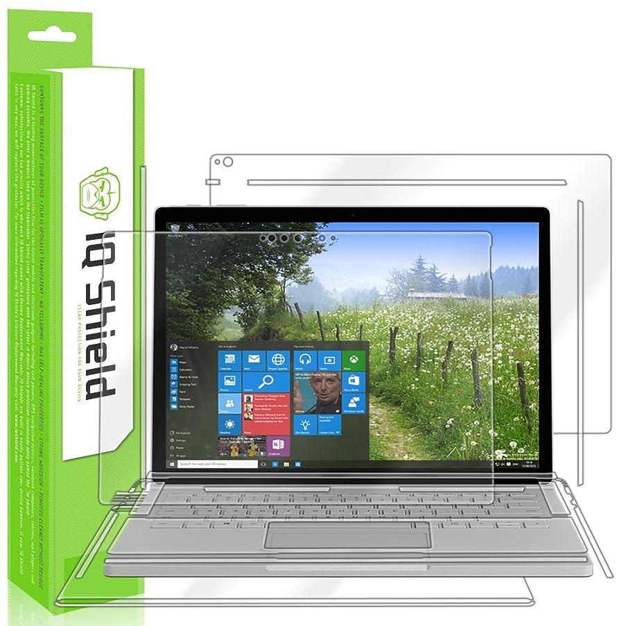 IQ Shield LiQuidSkin Full Body Skin + Full Coverage Screen Protector for Microsoft Surface Book 2 (15