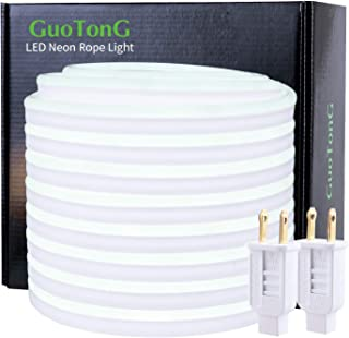 50 Ft LED Neon Rope Lights User Guide (Daylight White)