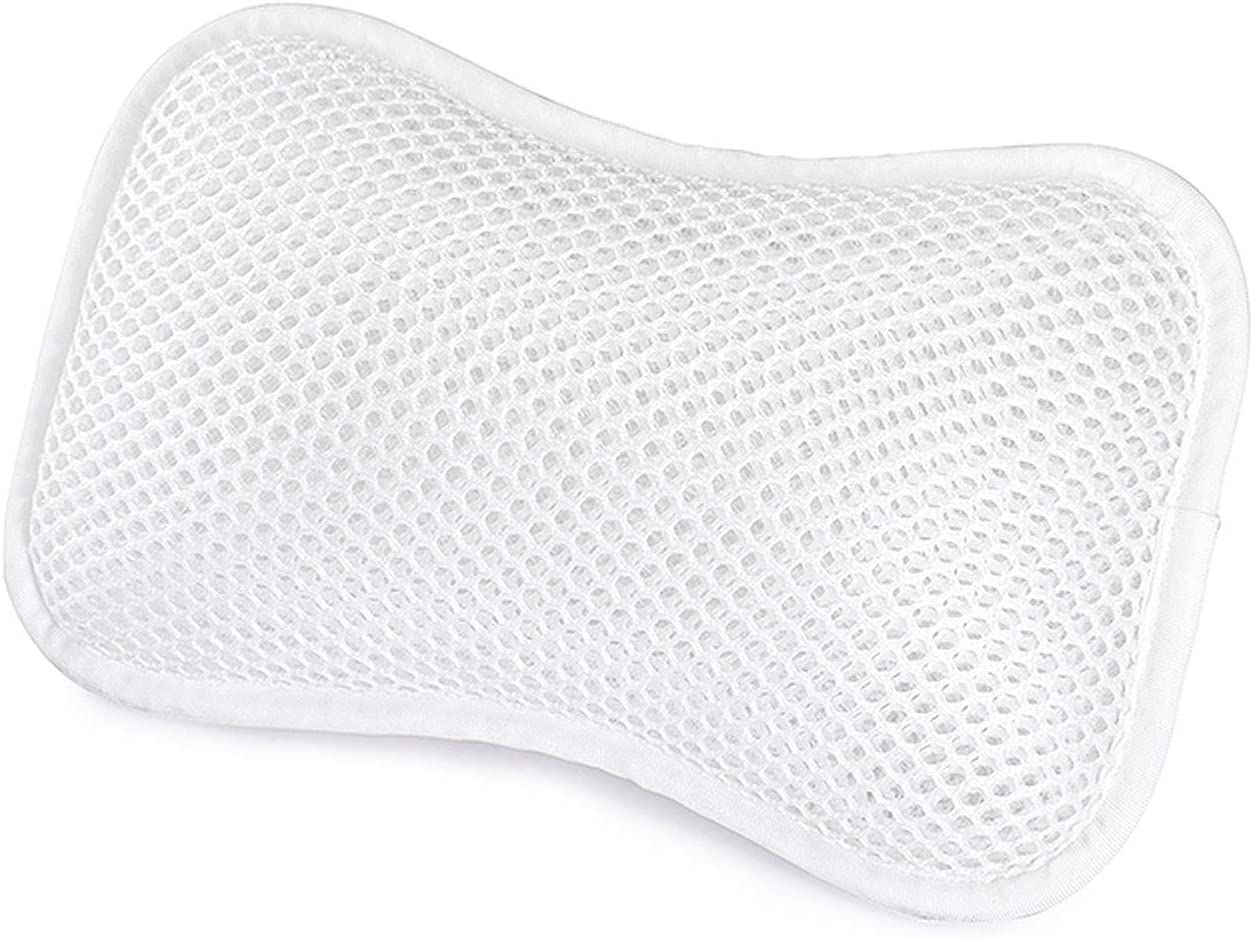ZTCWS Bath Low price Pillow with Suction Same day shipping Neck Supports Cups and Shoulders