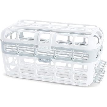 Munchkin High Capacity Dishwasher Basket, 1 Pack, Grey