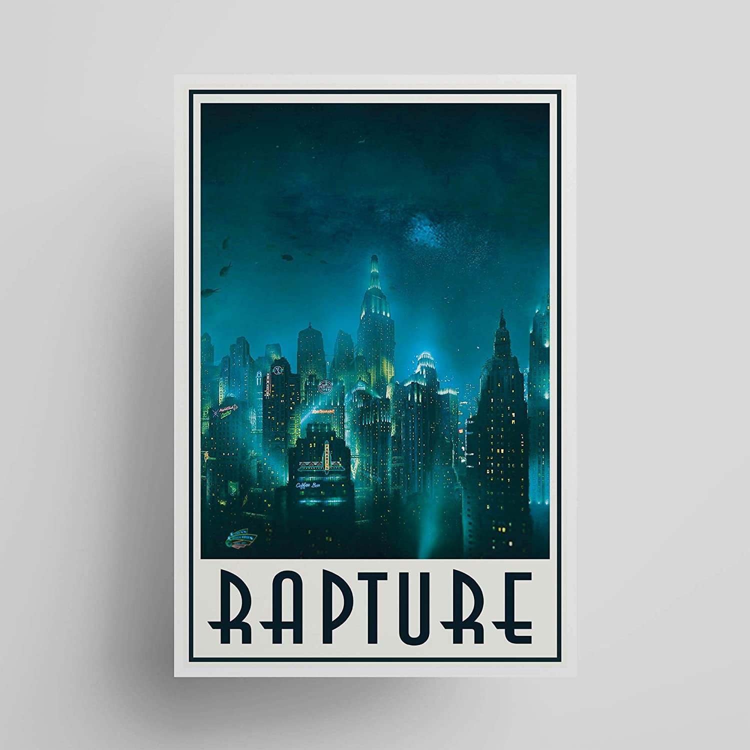 Welcome to Rapture; Gaming Manufacturer direct delivery Unframed Decor Poster Regular discount Gifts