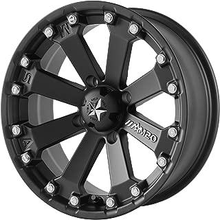 MSA MA20 14x7 4x110.00-52mm Satin Black Wheel Rim 14