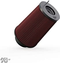 K&N Universal Clamp-On Engine Air Filter: Washable and Reusable: Round Tapered; 4 in (102 mm) Flange ID; 9.5 in (241 mm) Height; 6.625 in (168 mm) Base; 5.25 in (133 mm) Top , RC-4780
