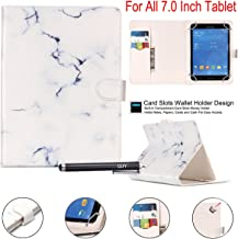 7.0 Tablet Case, Universal 7.0'' Case, Newshine Flip Stand Case Cover with [Card/Cash Slots] Magnetic Closure for All Tablet 7.0 inch Including Samsung Lenovo Kindle Newshine