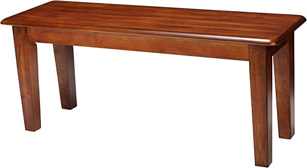 Sign Tur D Sign By Shl Y Home Decor Berringer Dining Bench Rectangular Vintage Casual Rustic Brown Finish