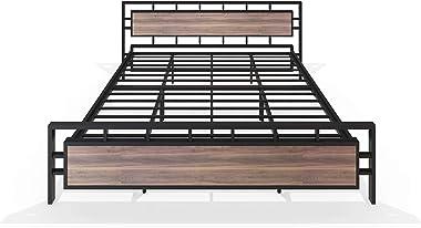 Homdec Hercules Metal King Bed