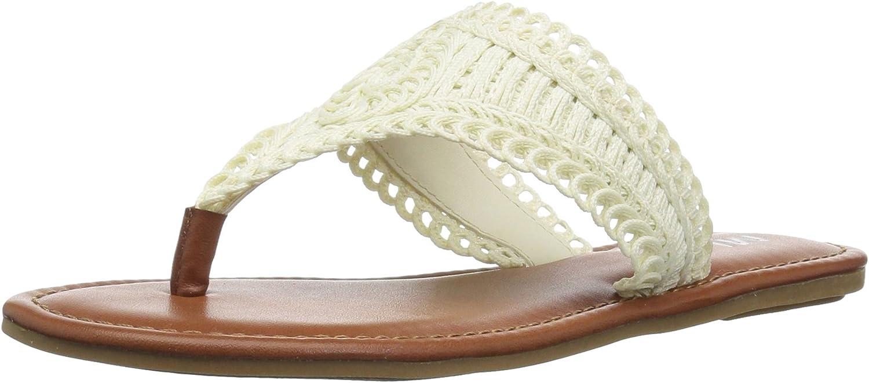 MIA Womens Mae Flat Sandal