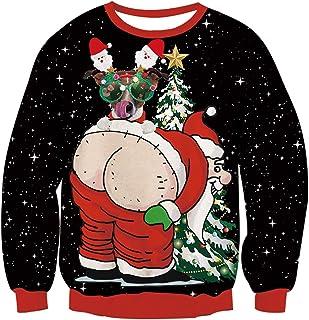 uideazone Christmas Sweater Crewneck Sweatshirt