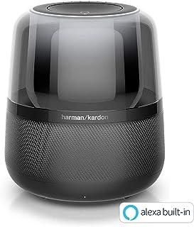 Harman Kardon ALLURE 阿尔尼亚 智能音箱 亚马逊搭载/蓝牙 黑色 HKALLUREBLKJN 【国内正品】