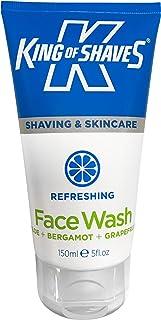 King of Shaves Refreshing Face Wash 150ml | Mens Face Wash | Facial Wash | Mens Skincare | Skin Care Products | Mens Facial Wash | Vegan Face Wash