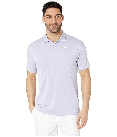 Nike Golf Breathe Vapor Jacquard Polo (Oxygen Purple/Purple Dawn/Sail) Men
