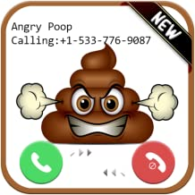 instant Live call From Angry Poop - Free Fake Phone Call ID PRO PRANK : Simulation 2018