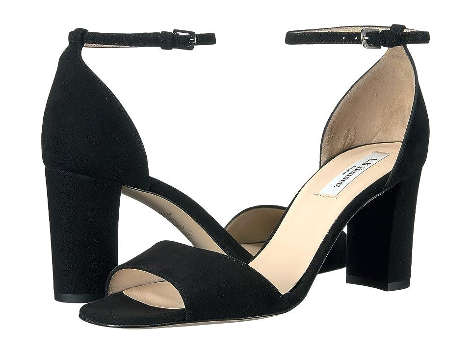 L.K. Bennett Helena (Black Suede) High Heels