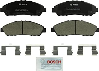 Bosch BC1280 QuietCast Premium Ceramic Disc Brake Pad Set For: Acura MDX, ZDX; Honda Pilot, Front
