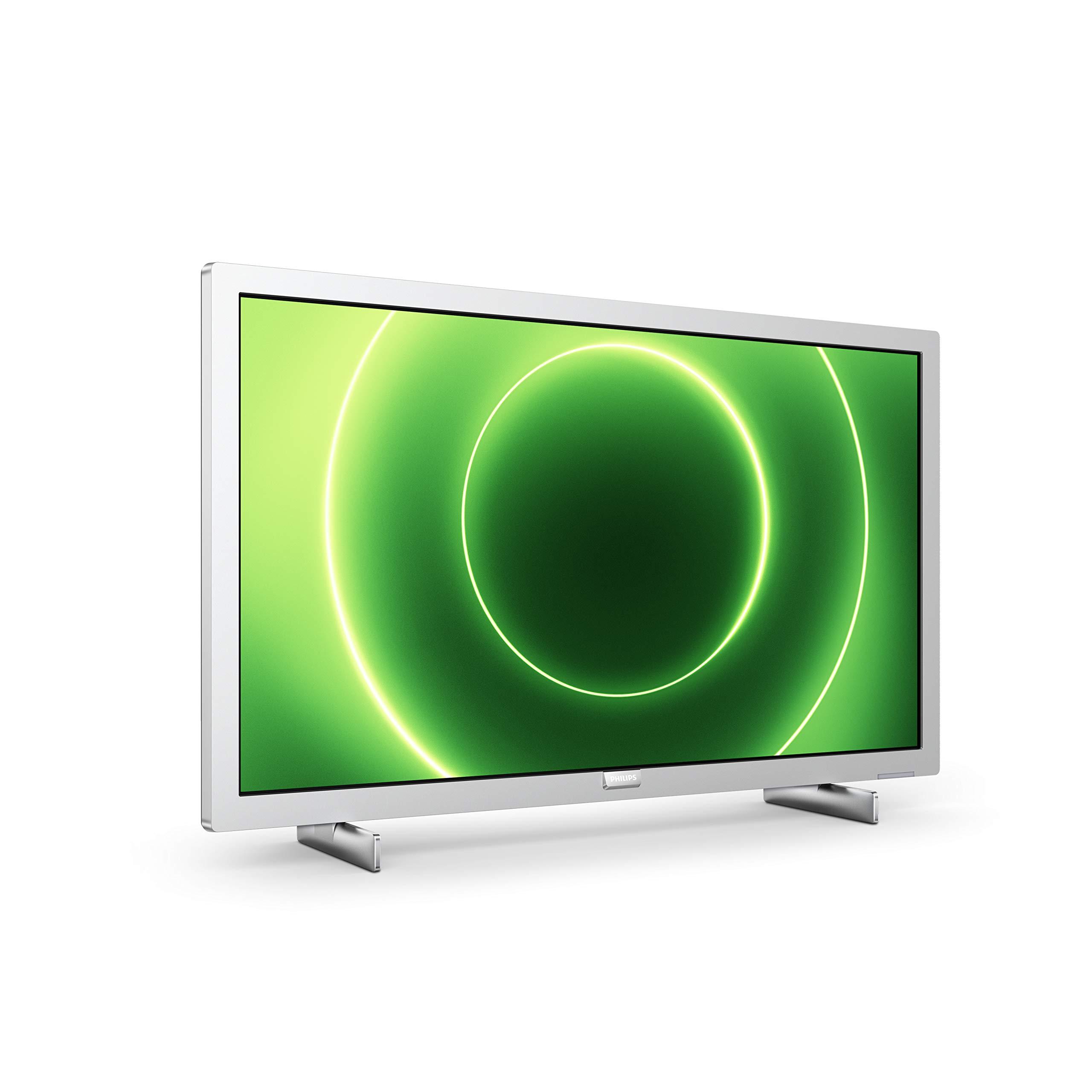 Philips 24PFS6855/12 Televisor 24 Pulgadas LED,Full HD, HDR 10, Pixel Plus HD, Smart TV, DTS-HD, HDMI,Modelo 2020/2021, Plateado Claro, 60 cm: Amazon. es: Electrónica