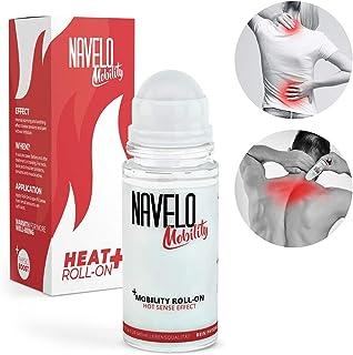 Navelo Wärme Roll On | bei Verspannungen und Schmerzen | mehr als 100 Anwendungen | für unterwegs | kein Chili und Co. | wie Wärmepflaster | bei Nackenschmerzen und Rückenschmerzen 1