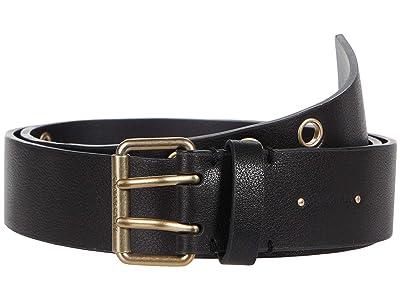 AllSaints 38 mm Belt with Eyelets (Black) Women