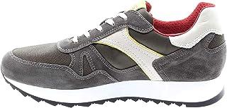 Nero Giardini P900941U Sneakers Uomo in Pelle, Camoscio E Tela