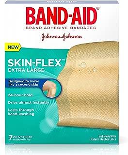 Band-Aid Brand Skin-Flex Adhesive Bandages, Extra Large, 7 Bandages Per Box (6 Pack)