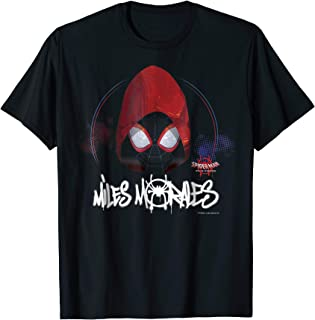Spider-Man Spiderverse Red Hood Graphic T-Shirt