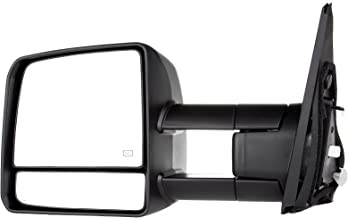 SCITOO for Toyota Towing Mirror High Performance Driver Side Automotive Exterior Mirror for 07-16 Toyota Tundra with Turn Signal Heated and Power Control Features