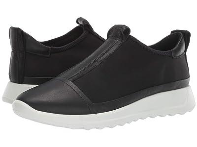 ECCO Flexure Runner Slip-On (Black/Black/Black/Black) Women