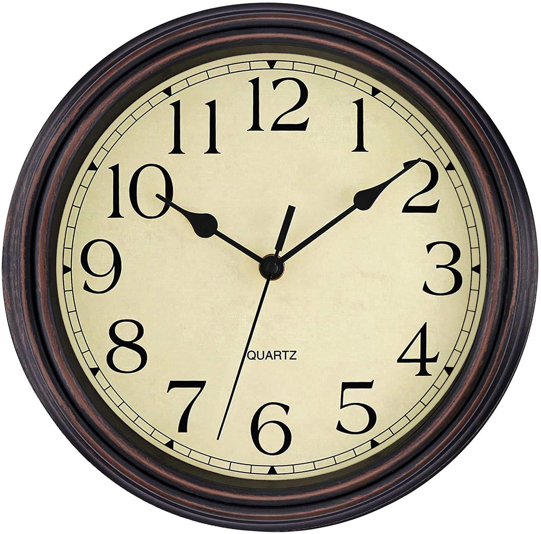 Autostyle AGTCK-12 Instrument Performance noir classique horloge analogique 52mm