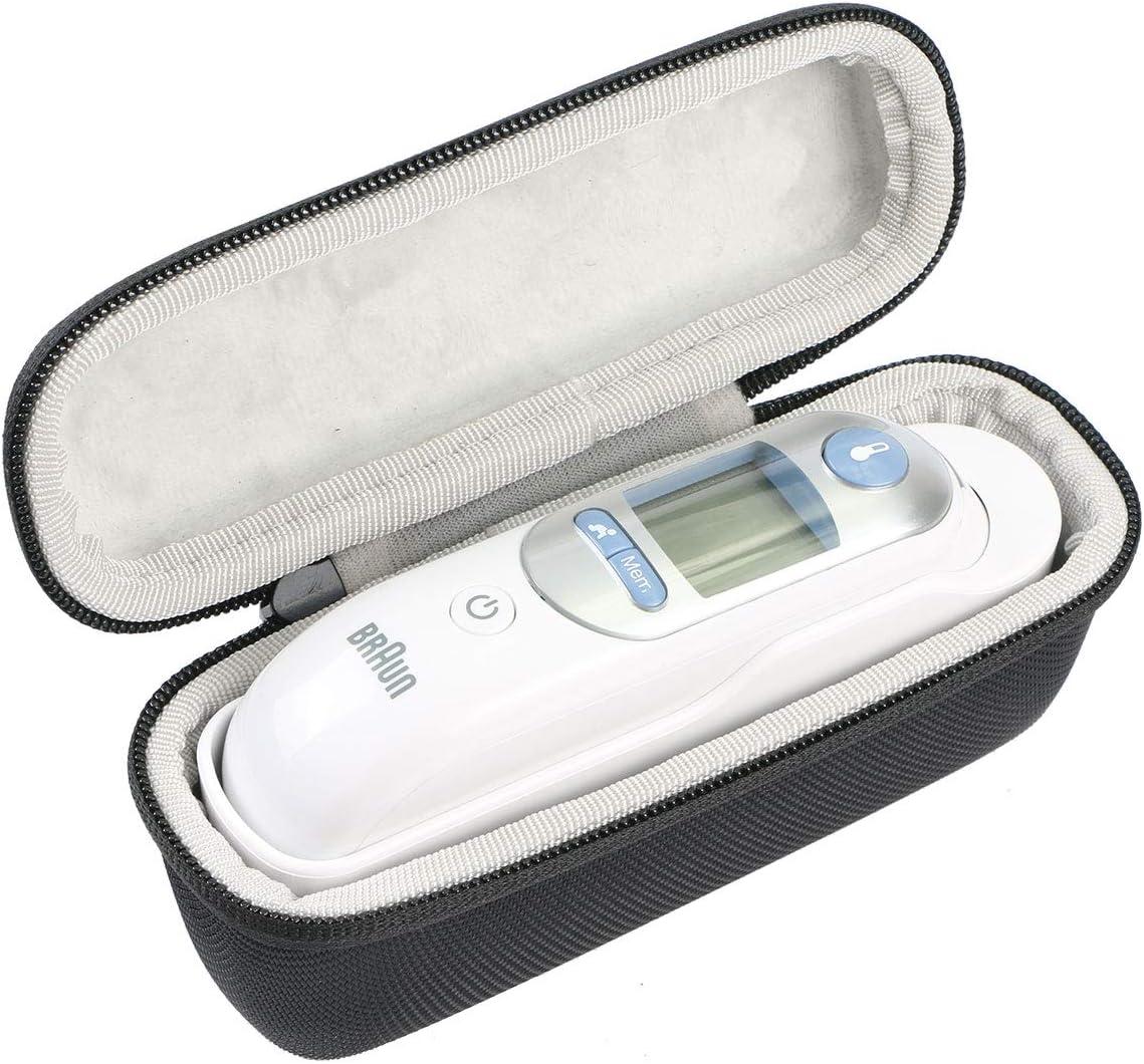 Khanka Case Schutzhülle Tasche Für Braun Thermoscan 7 5 Infrarot Ohrthermometer Irt6020 6520 Ohne Netztasche Drogerie Körperpflege