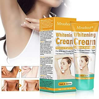 Skin Whitening Cream, Underarm Whitening Cream, Lightening cream for body, Effective Lighten & Brighten Armpit, Bikini, Elbow, Private and Sensitive Areas
