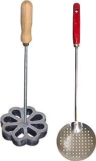 Bunuelera Iron Rossette with free Oil spoon, Molde para hacer bunuelos, Bunuelera with Rustic