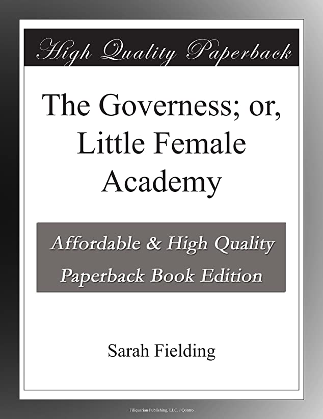 下向き廃棄する再生The Governess; or, Little Female Academy