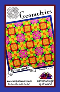 Geometrics Quilt Pattern by Jackie Kunkel from Canton Village Quilt Works 64