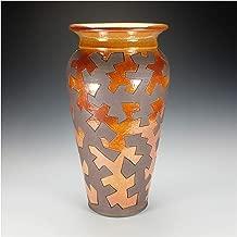 Zig Zag Puzzle Raku Pottery