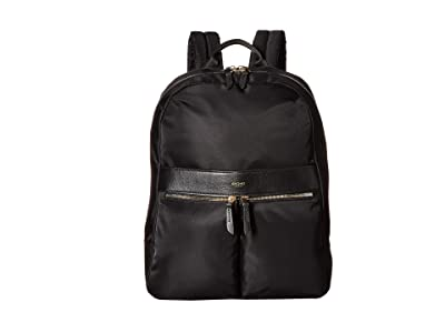 KNOMO London Mayfair Beaufort Backpack (Black) Backpack Bags