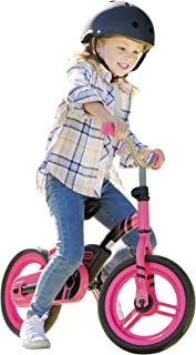 Little Tikes My First Balance-to-Pedal Bike with Fold in Pedals, 2-in-1, Pink, 2-5 Years, 12-Inch