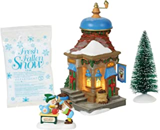 Department 56 North Pole Village Series Nutmeg Nook Lit Building and Accessories, 7.5